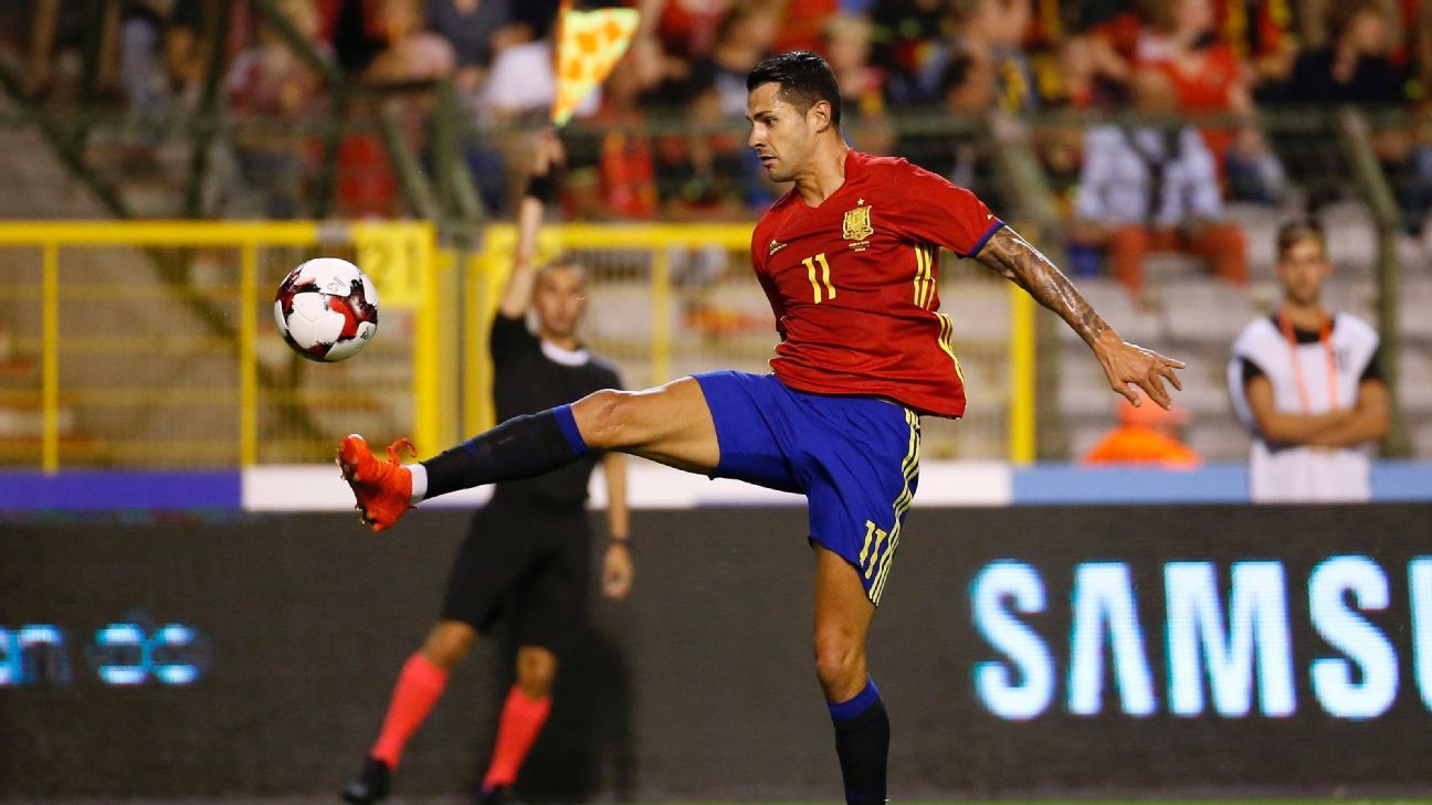 Vitolo Spain v Belgium 20160901