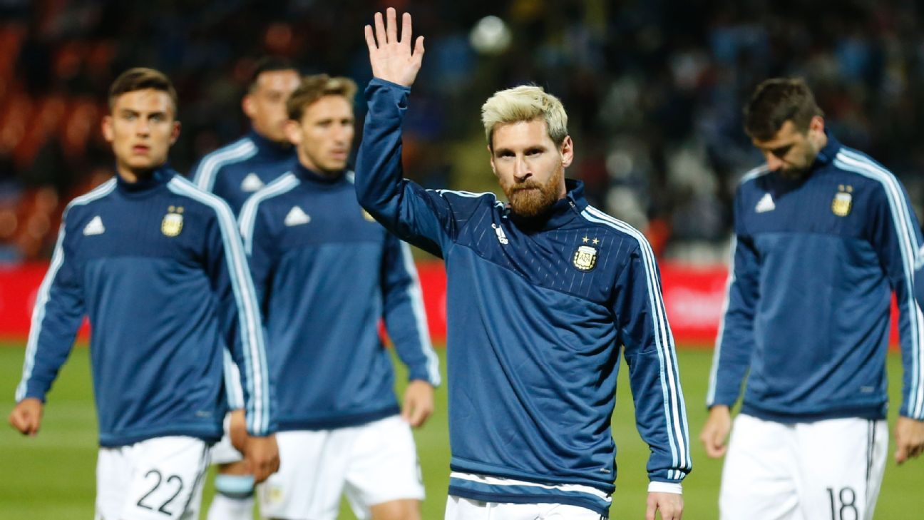 Argentina striker Lionel Messi