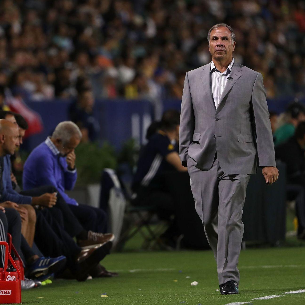 LA Galaxy coach Bruce Arena