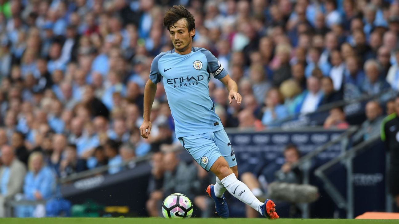 Image result for david silva city 2017