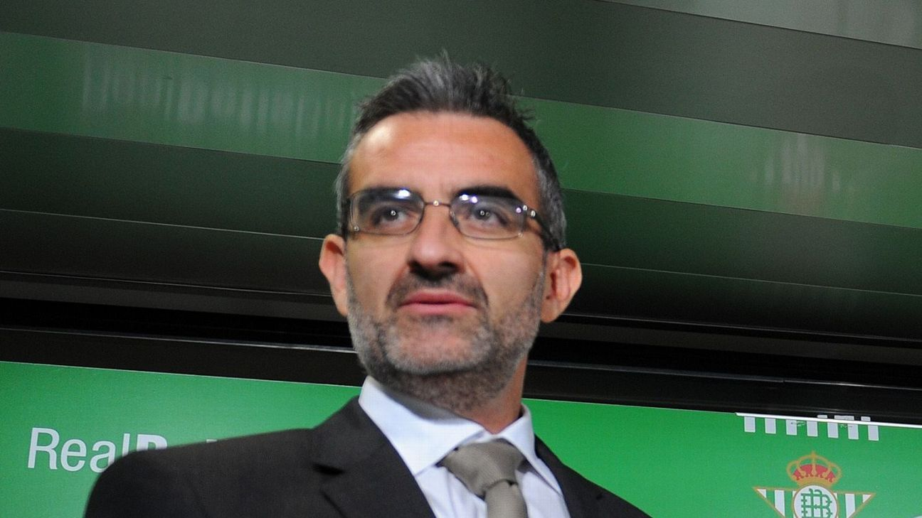 Leicester's head of senior player recruitment, Eduardo Macia