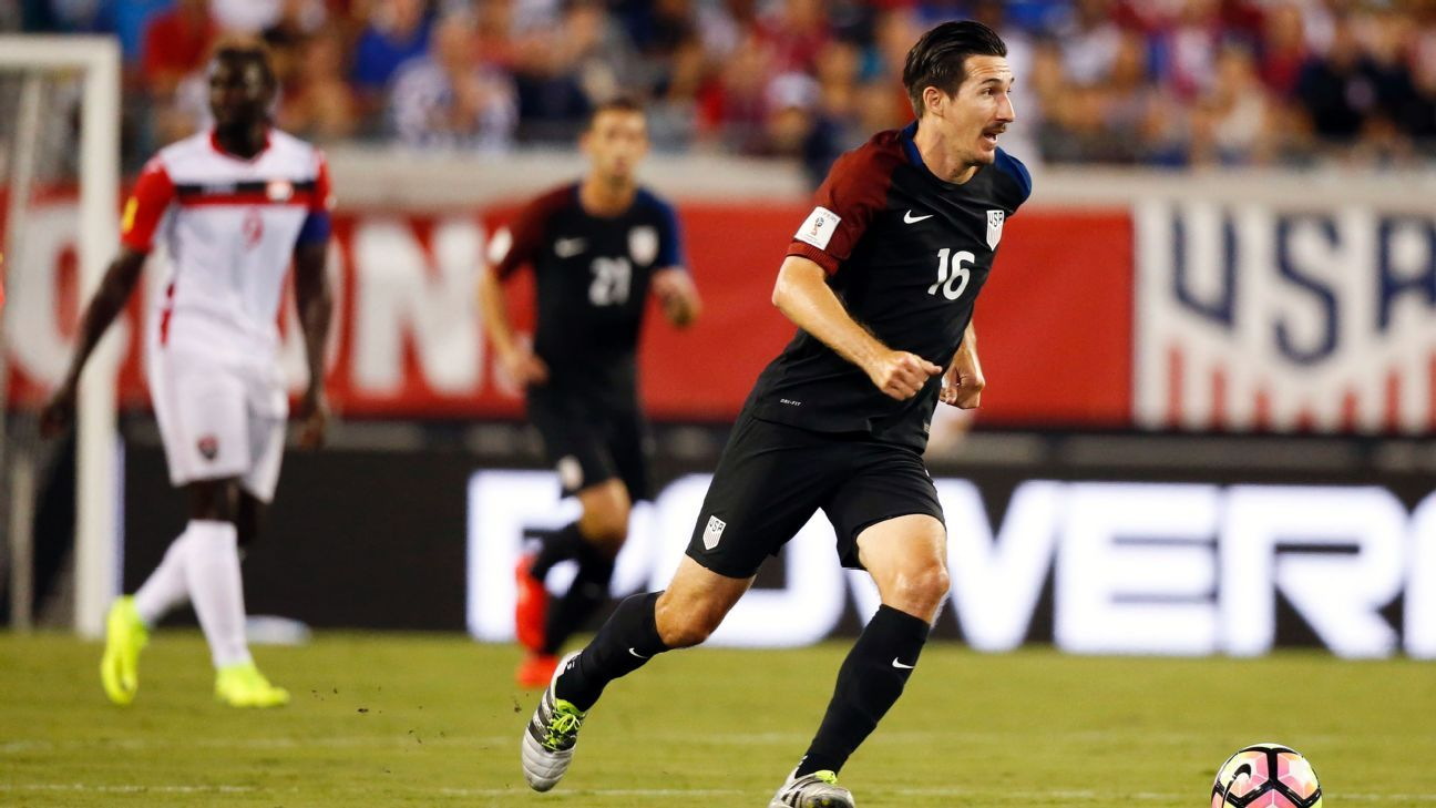 Sacha Kljestan scored the opener for the U.S. in a win against Trinidad and Tobago.