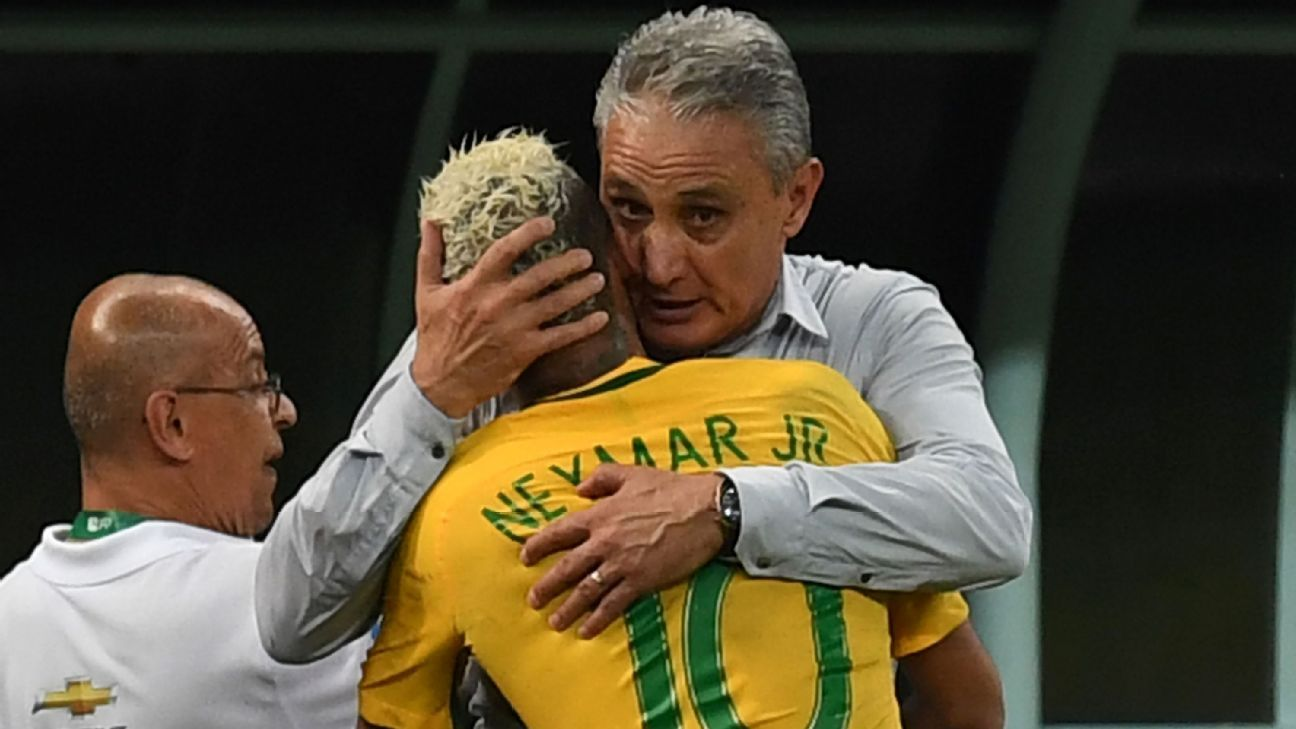 Image result for Neymar and Tite