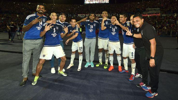 JDT celebrate 3rd straight MSL title