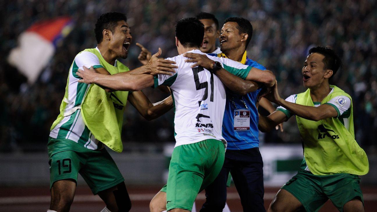 Melaka United win Malaysia second tier