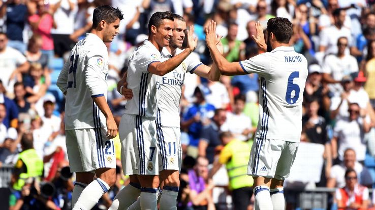 Cristiano Ronaldo scored in his return from injury.