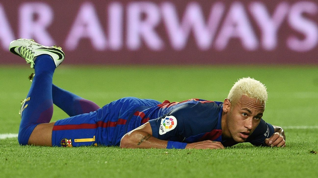 Neymar could not find a goal as Barcelona lost their earlier La Liga game since the 2010-11 season.