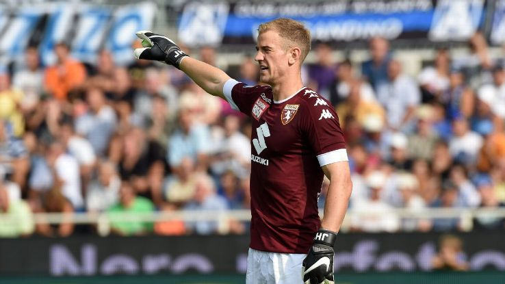 Joe Hart made 36 appearances for Torino in Serie A.