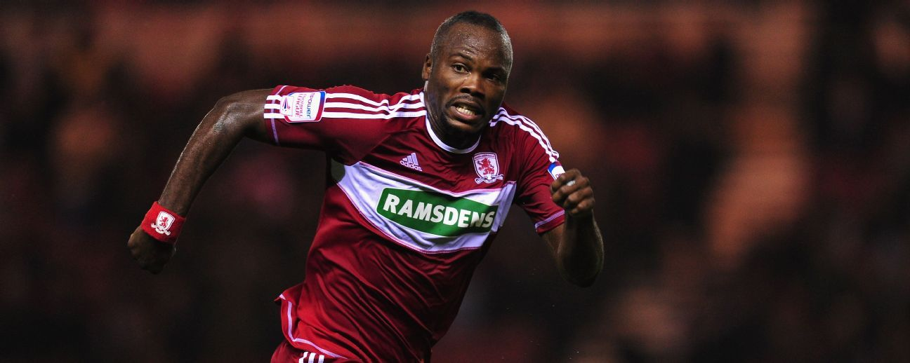 File photo of Andre Bikey in action for Middlesbrough.
