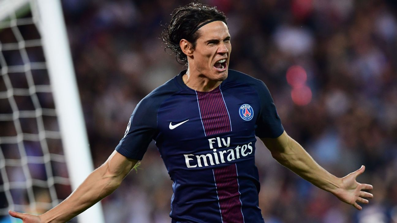 Edinson Cavani found his scoring boots against Caen on Friday.