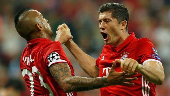 Robert Lewandowski and Bayern Munich have high hopes of a Champions League breakthrough.