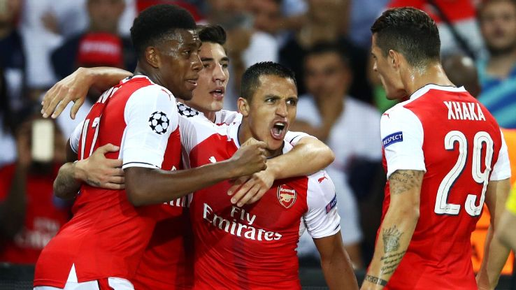 Arsenal sits at third in the table, and the schedule gives them a fighting chance to improve that standing.