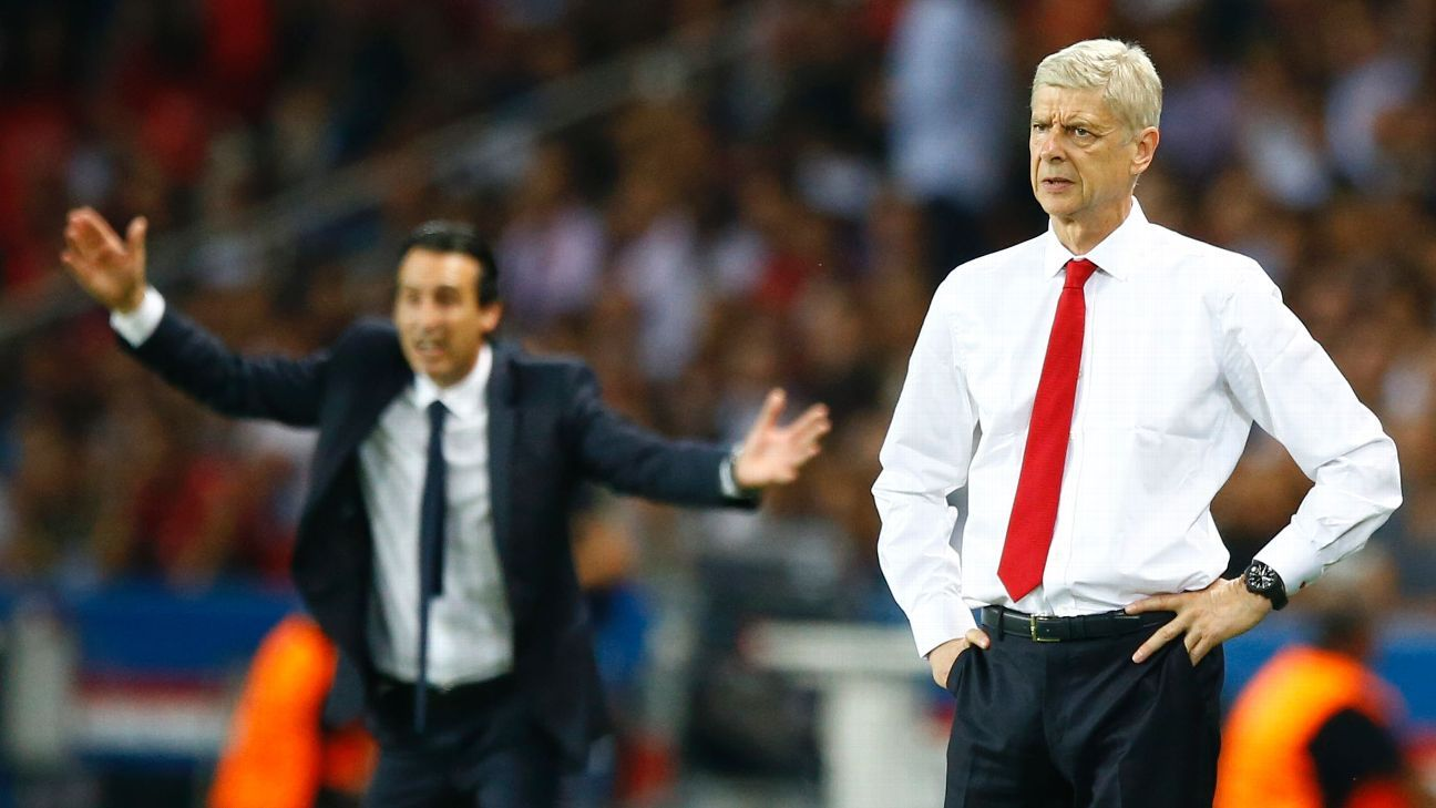 Arsene Wenger could be a candidate to replace Unai Emery at Paris Saint-Germain.