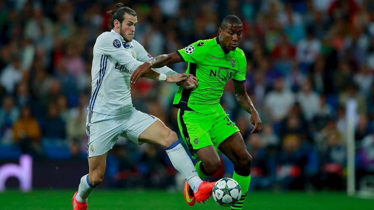 Bale action Real v Sporting 160914