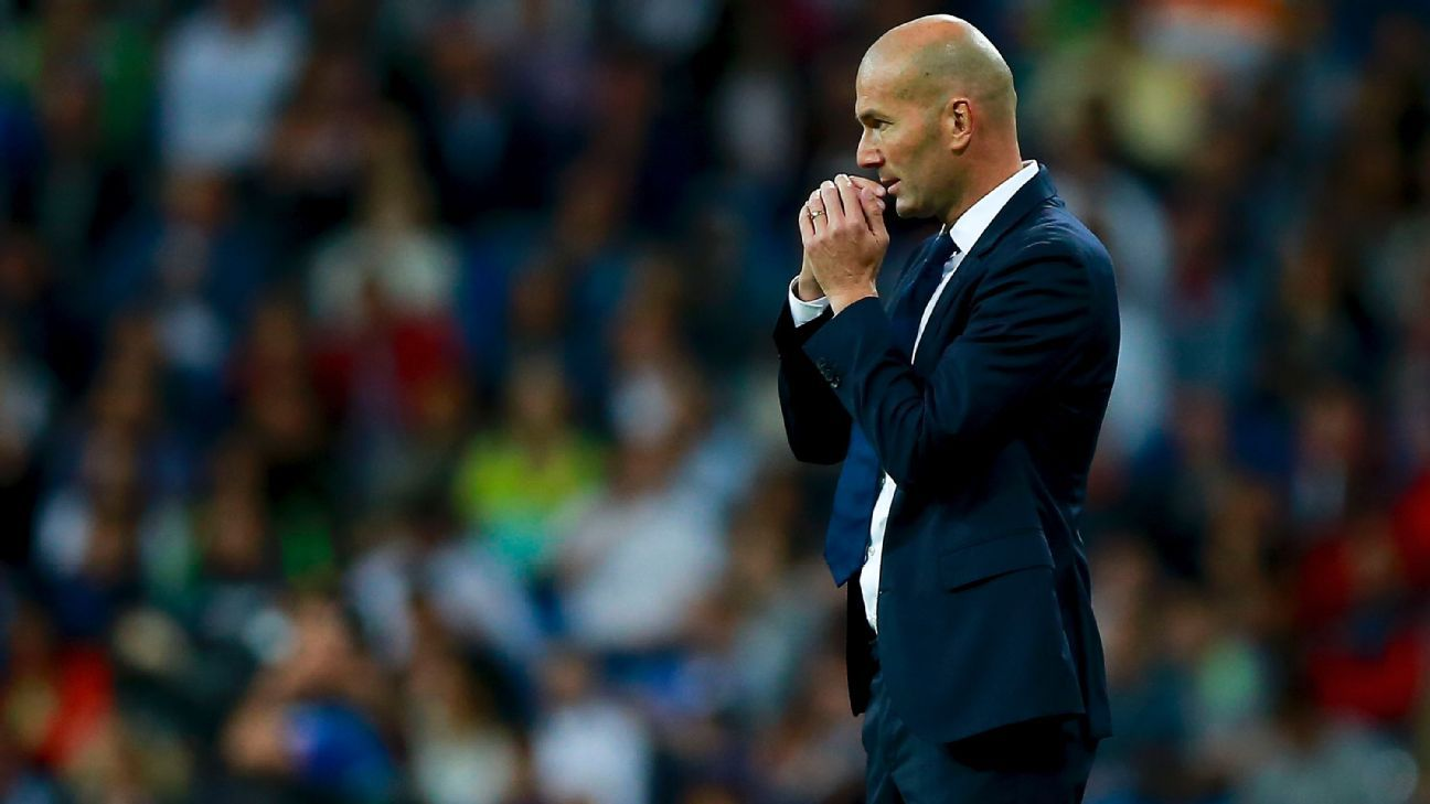 Zidane woe vs Sporting 160914