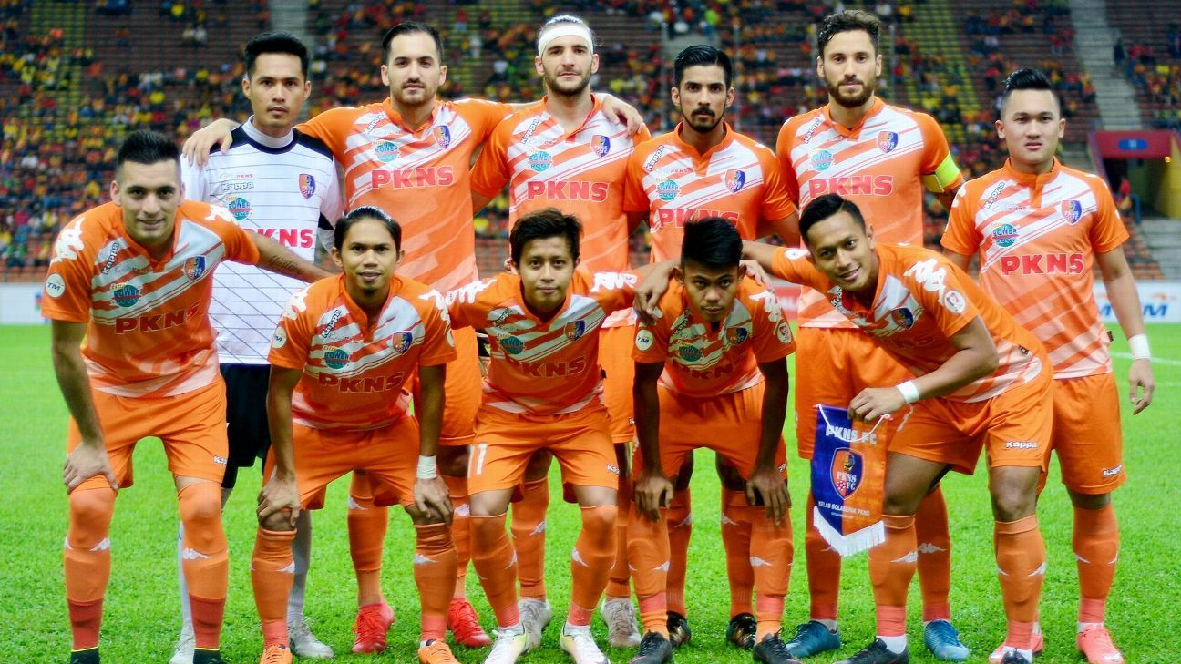 PKNS FC in Malaysia Cup