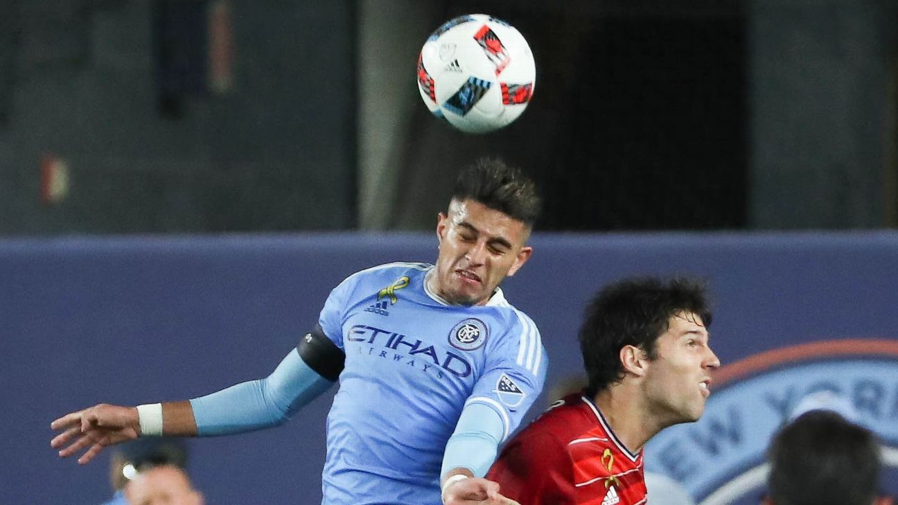 New York City FC's Ronald Matarrita out 4-6 weeks with high ankle sprain