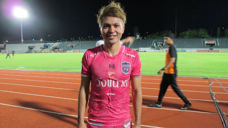 Chainat midfielder Sho Shimoji