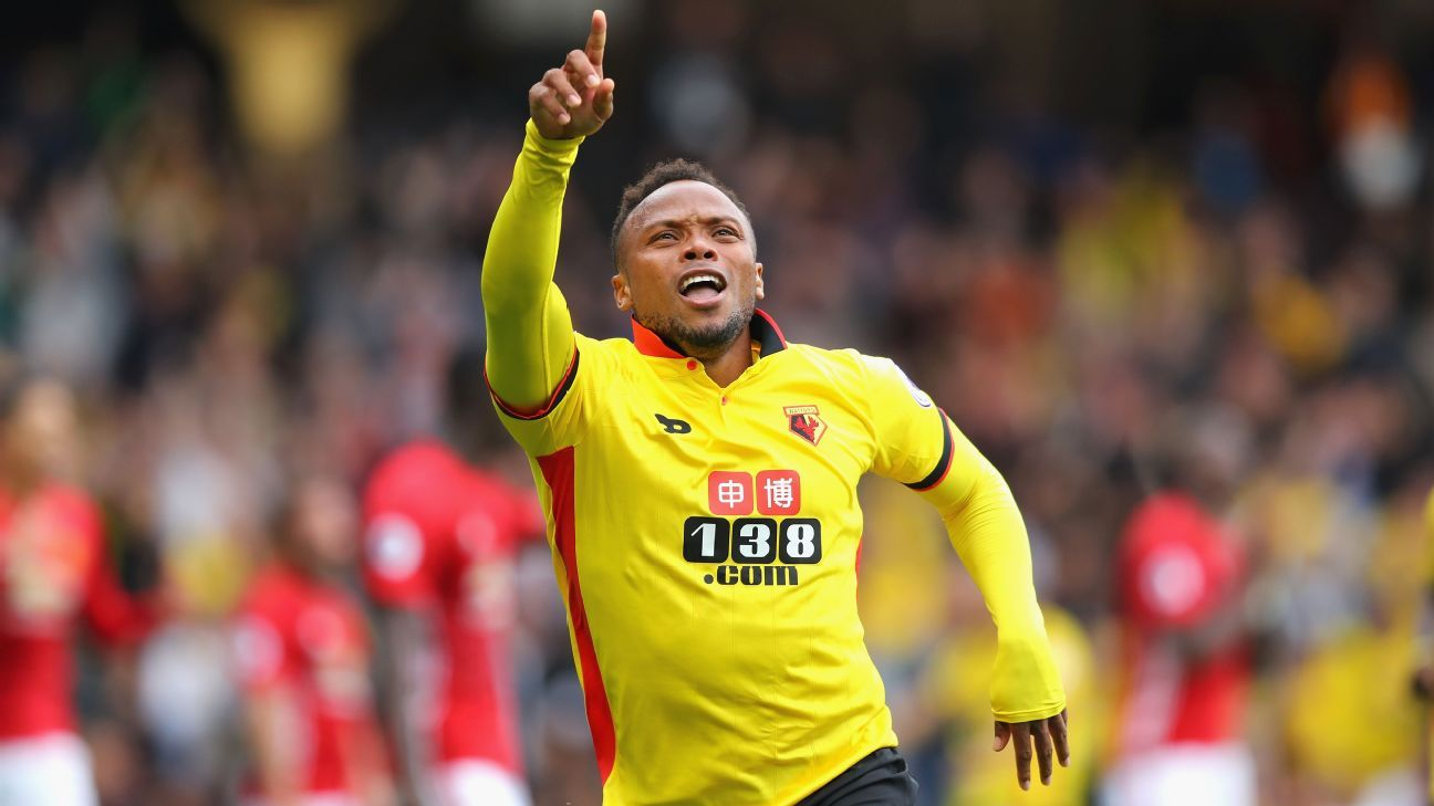 Juan Camilo Zuniga scored moments after coming on as a substitute for Watford.