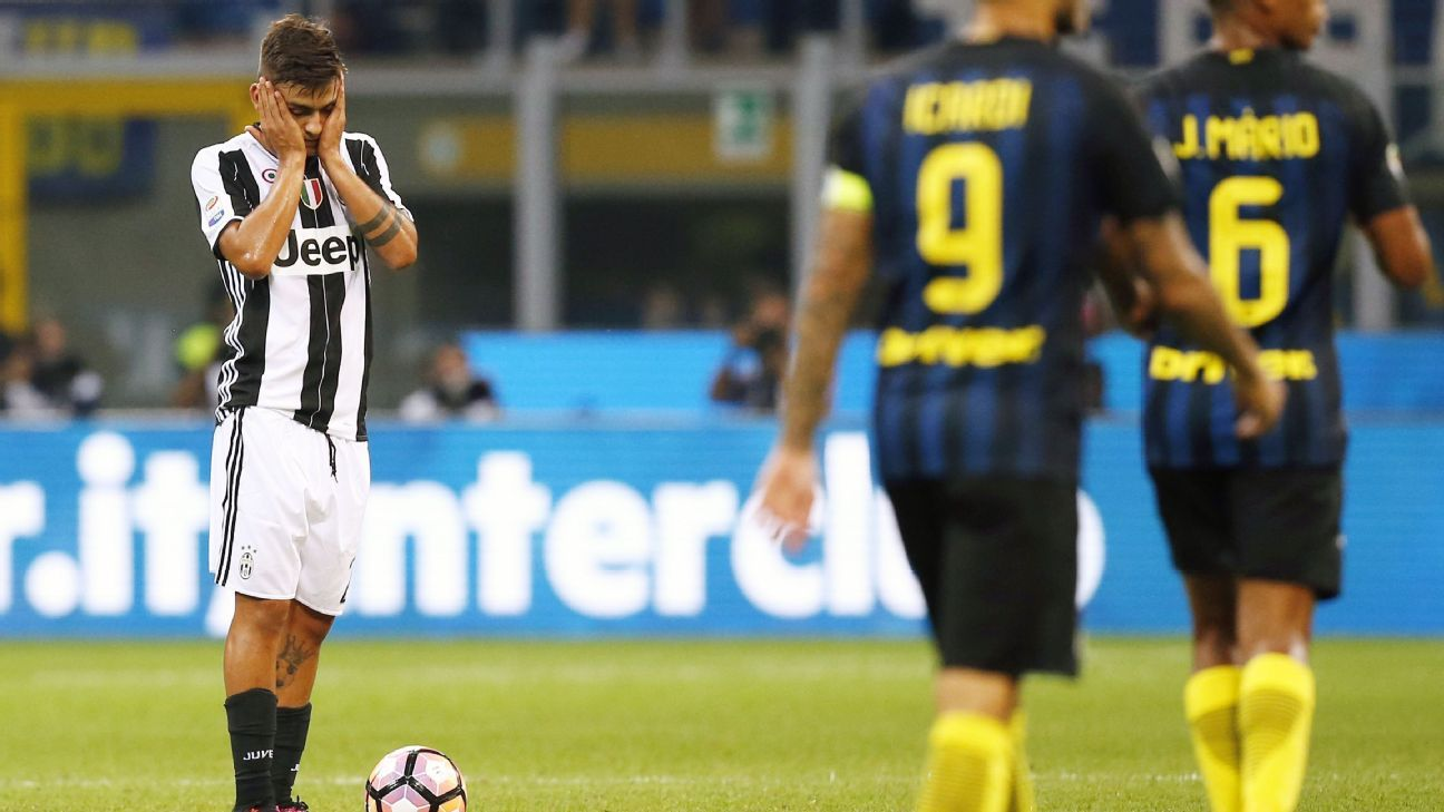 Dybala vs Inter 160918
