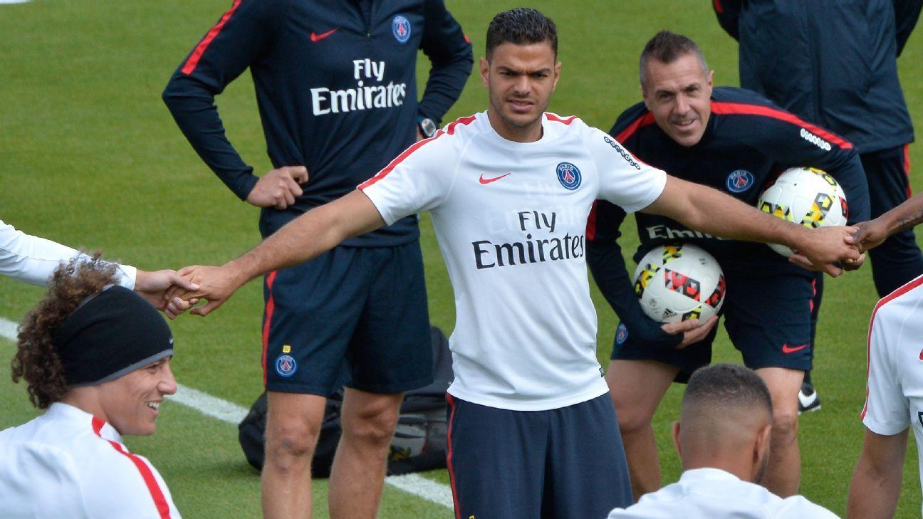 PSG forward Hatem Ben Arfa