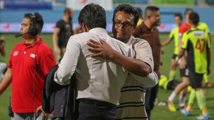 Tampines coach Akbar Nawas