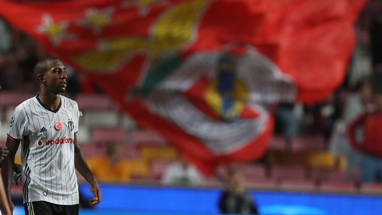 Besiktas midfielder Talisca