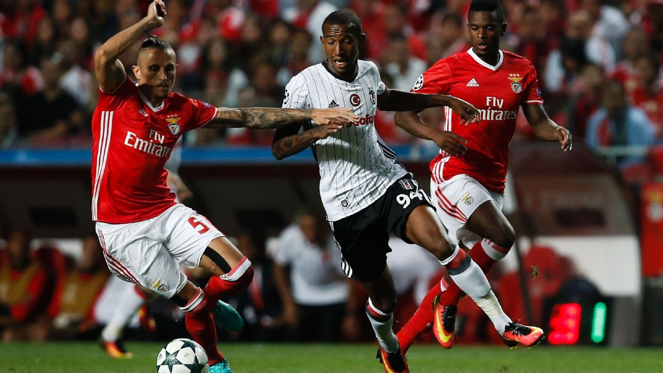 Besiktas midfielder Talisca vs. Benfica