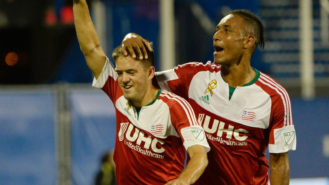 Kelyn Rowe and Juan Agudelo
