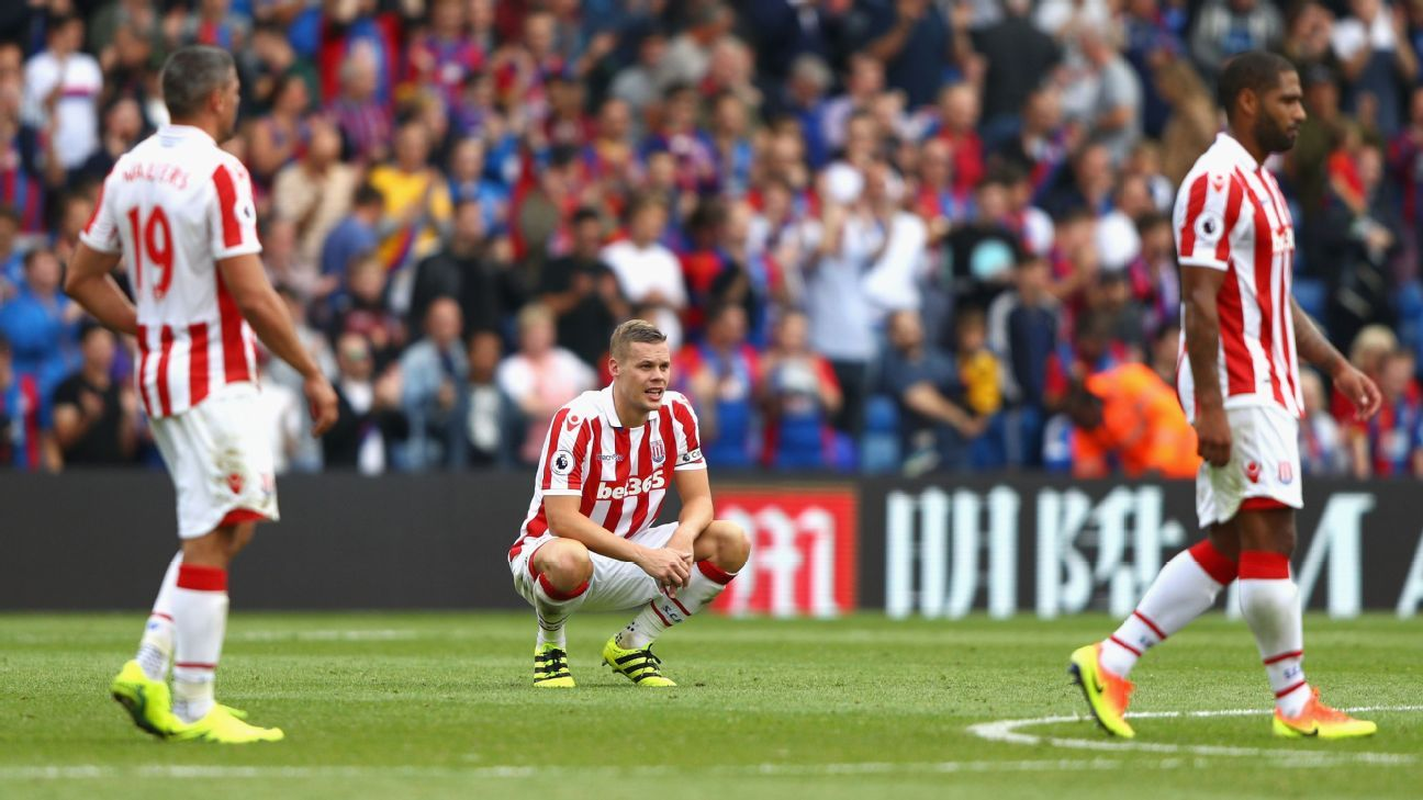 Stoke slumped to another defeat after wasting a lead against Hull.