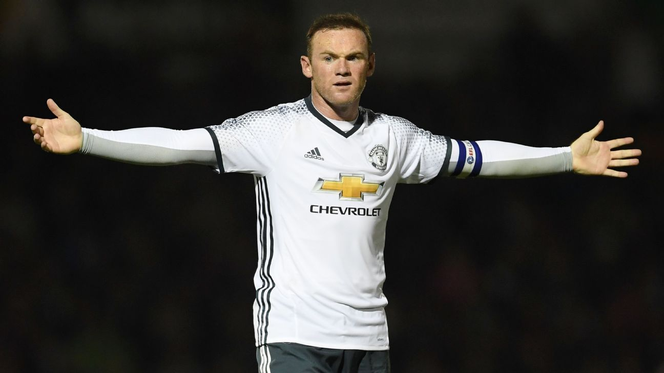 Wayne Rooney has never had a best position but it s not been a