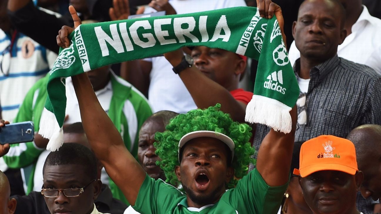 Nigeria football fans
