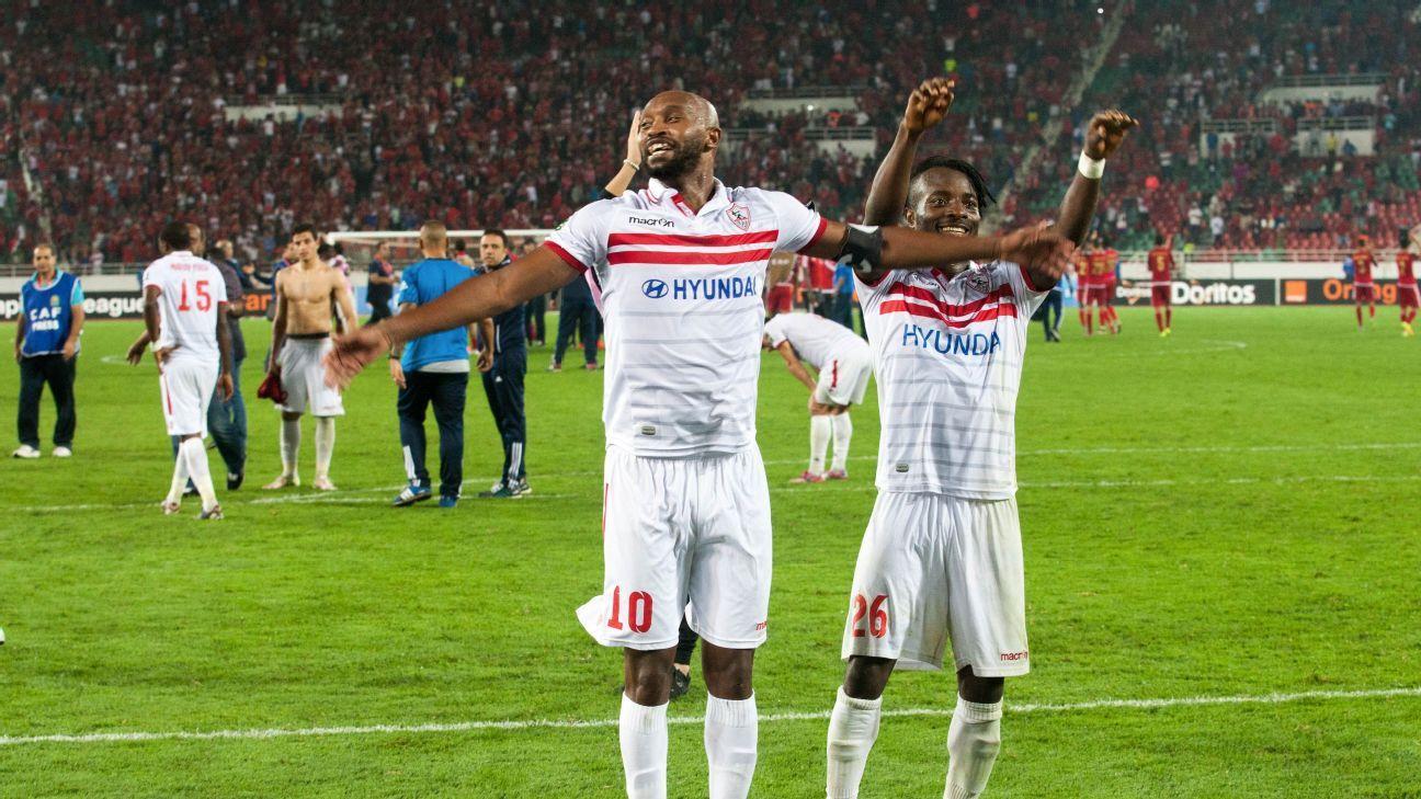 Zamalek celebrates