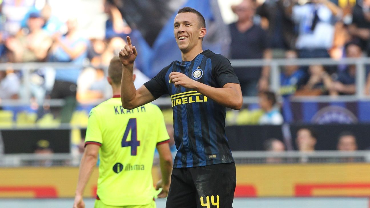 Ivan Perisic netted Inter Milan's equaliser on Sunday.