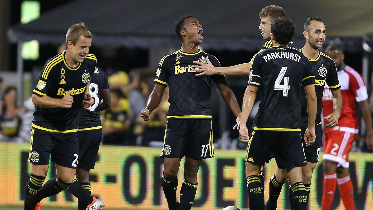 Ola Kamara focused on playoff push, not concerned with Crew SC extension