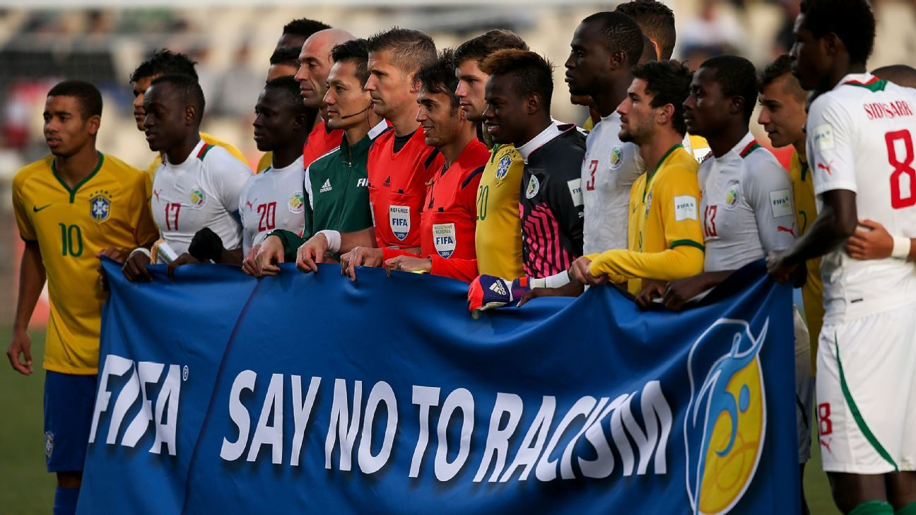 FIFA: Say no to racism