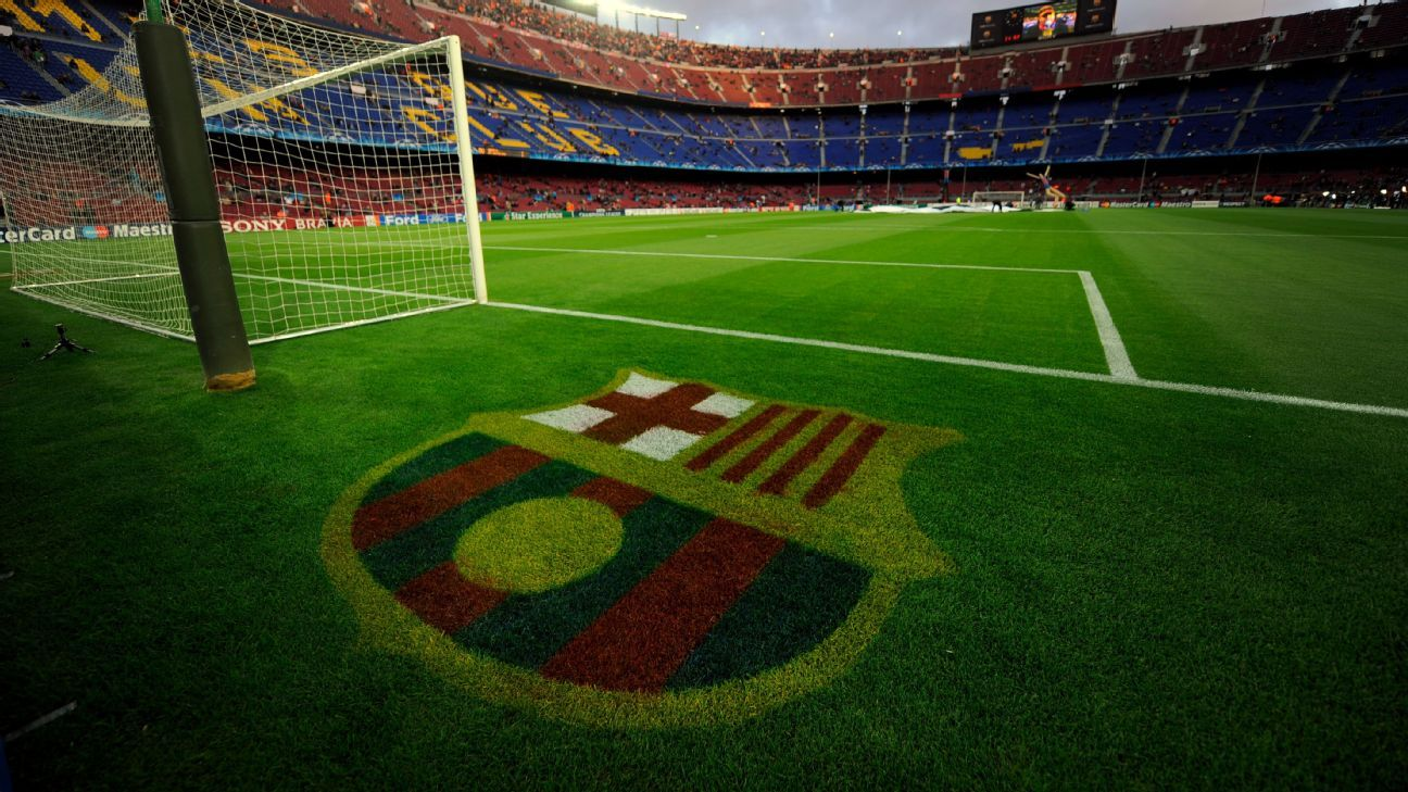 Camp Nou grass