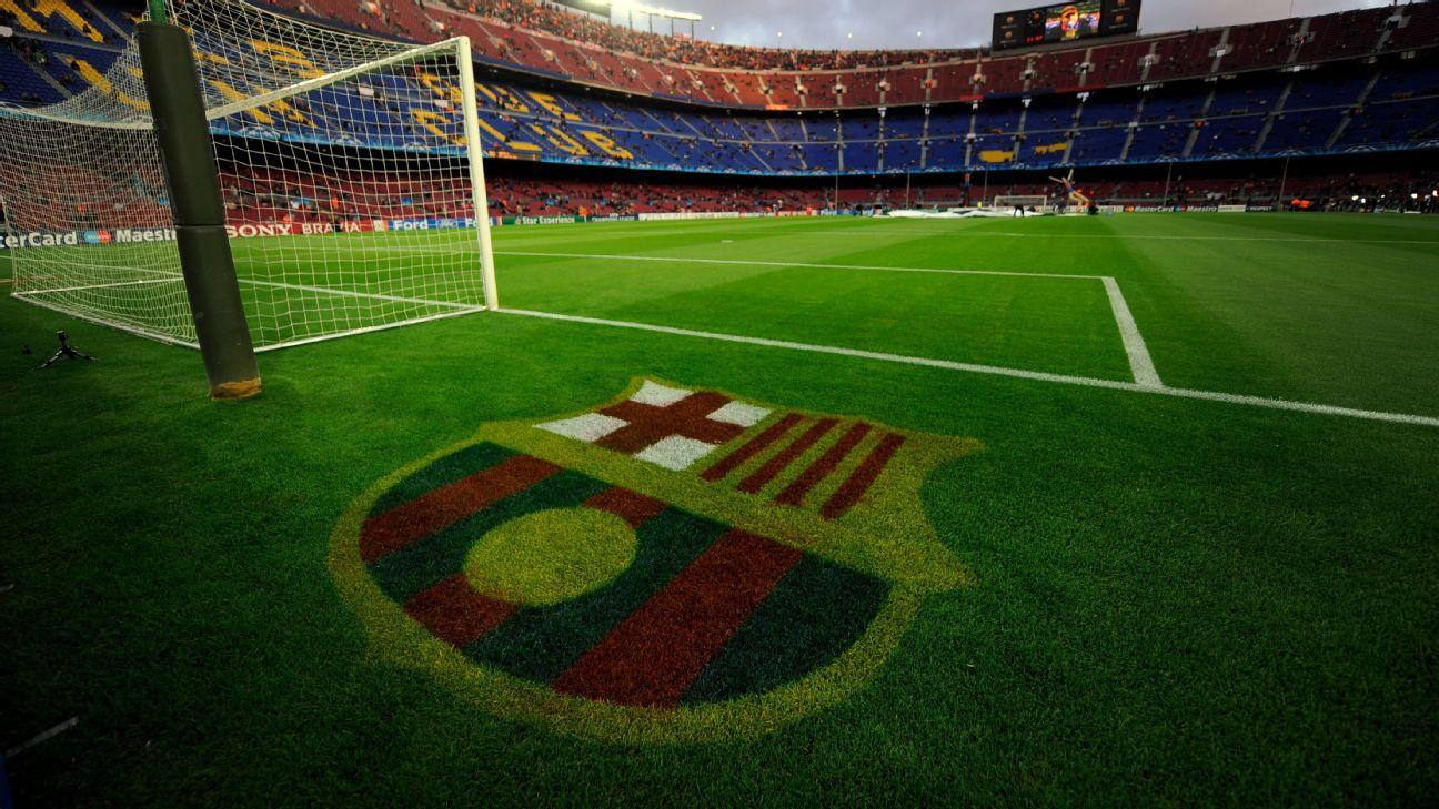 Camp Nou grass