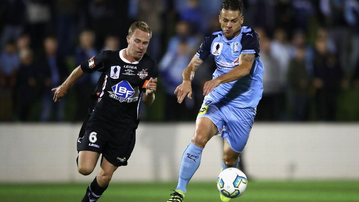 Sydney FC striker Bobo