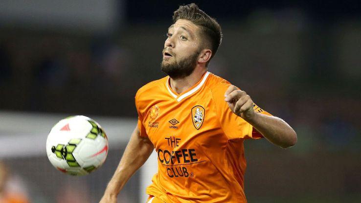 Brisbane Roar striker Brandon Borrello