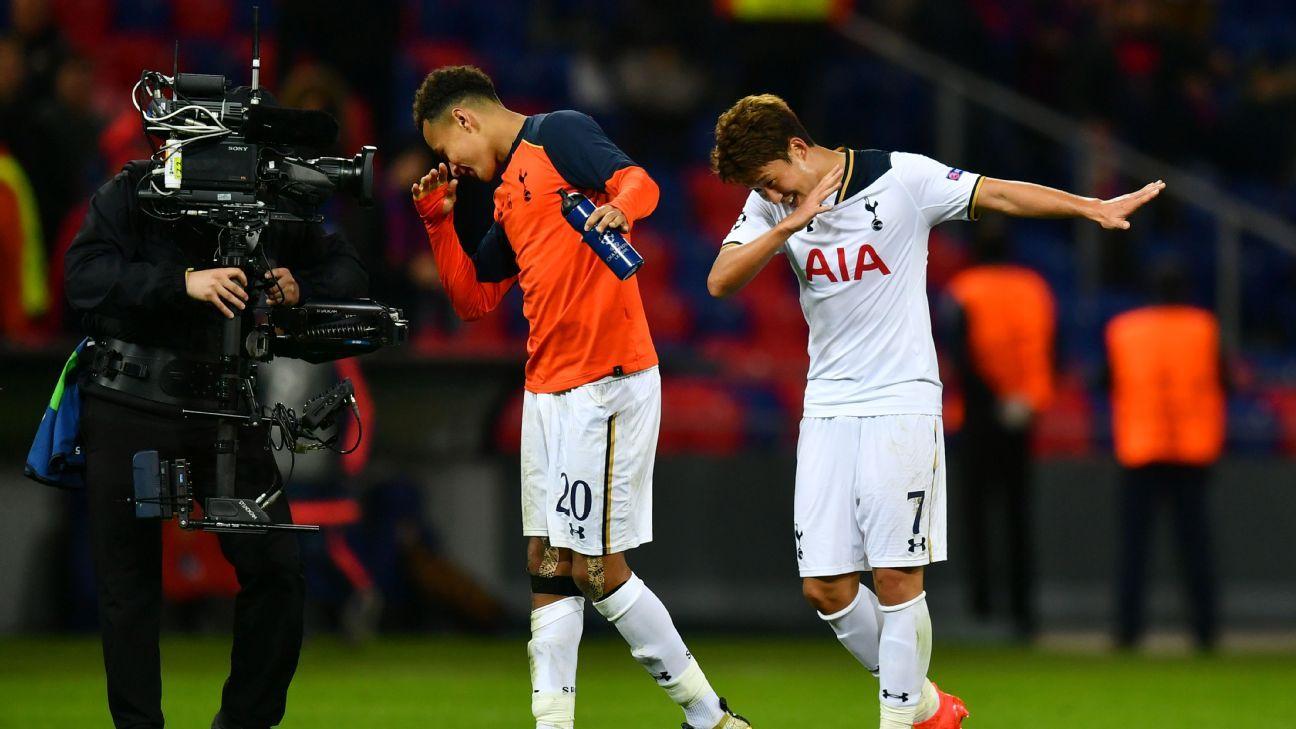 Tottenham striker Son Heung-Min