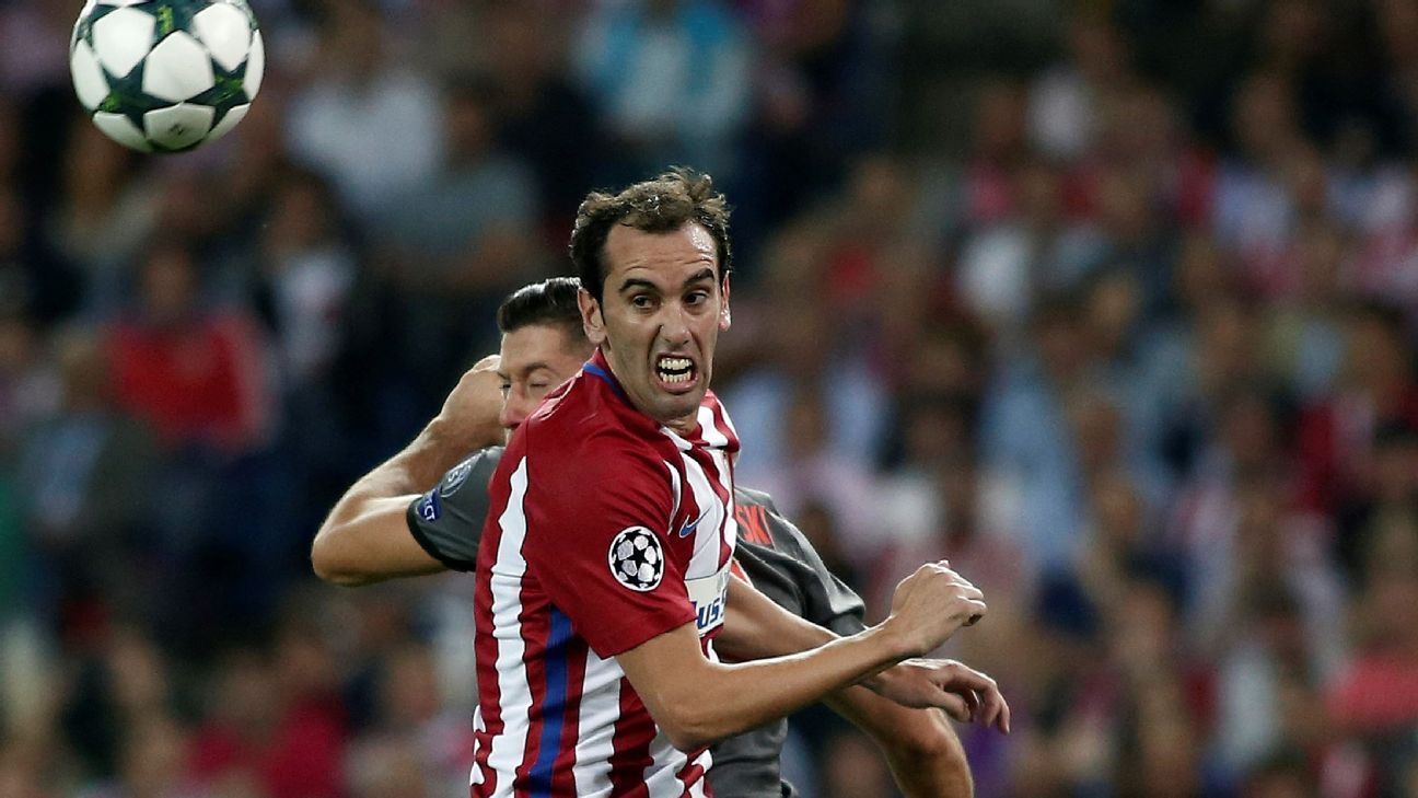 Atletico Madrid defender Diego Godin shows best of Uruguay