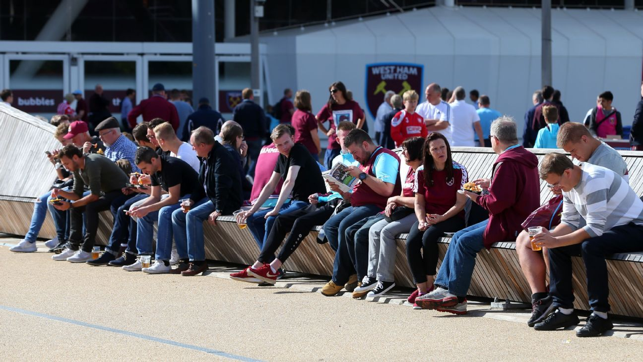 West Ham United supporters
