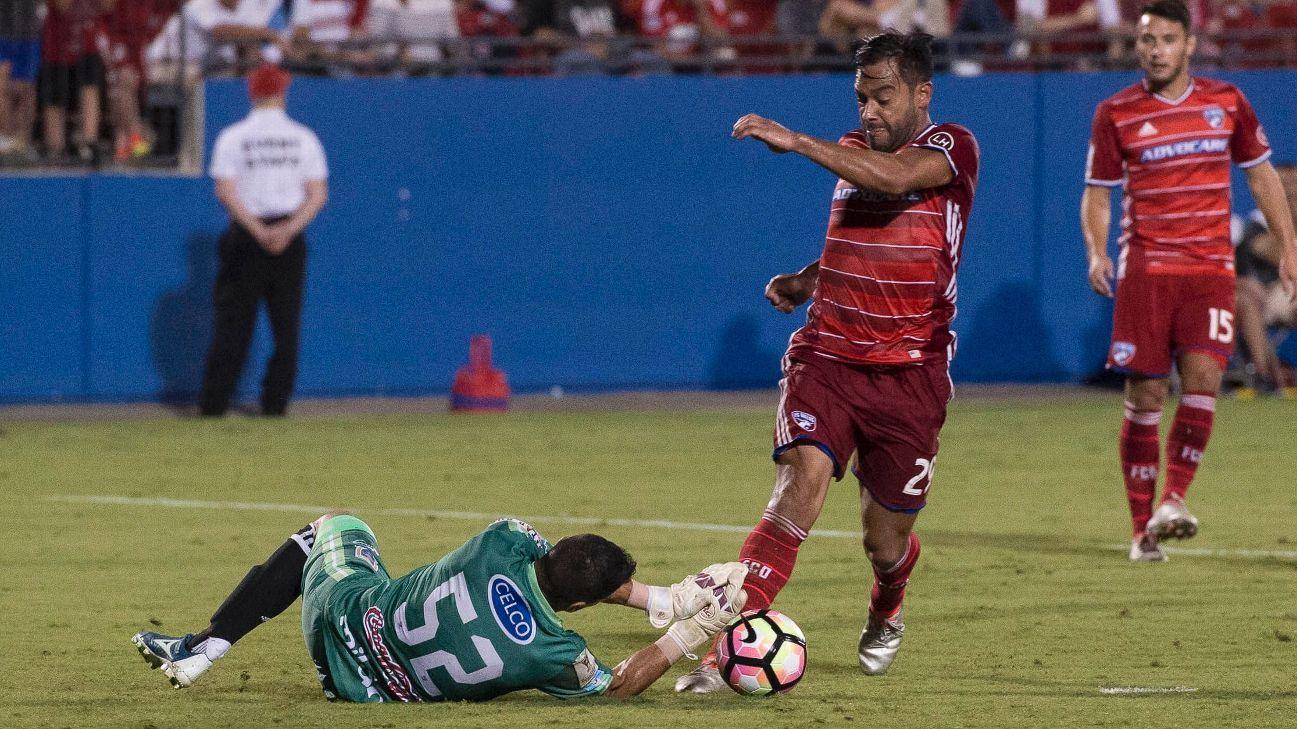 FC Dallas CCL action 160928