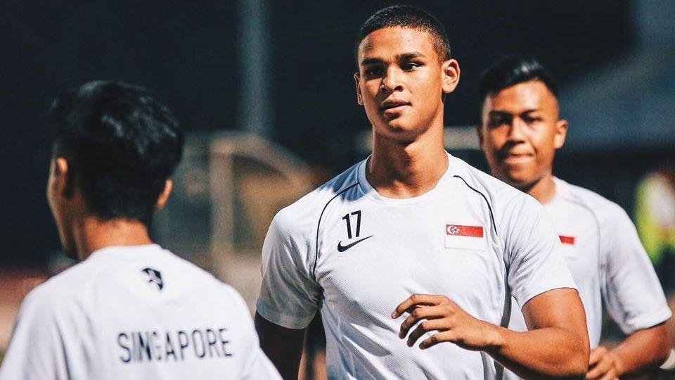 Singapore striker Irfan Fandi