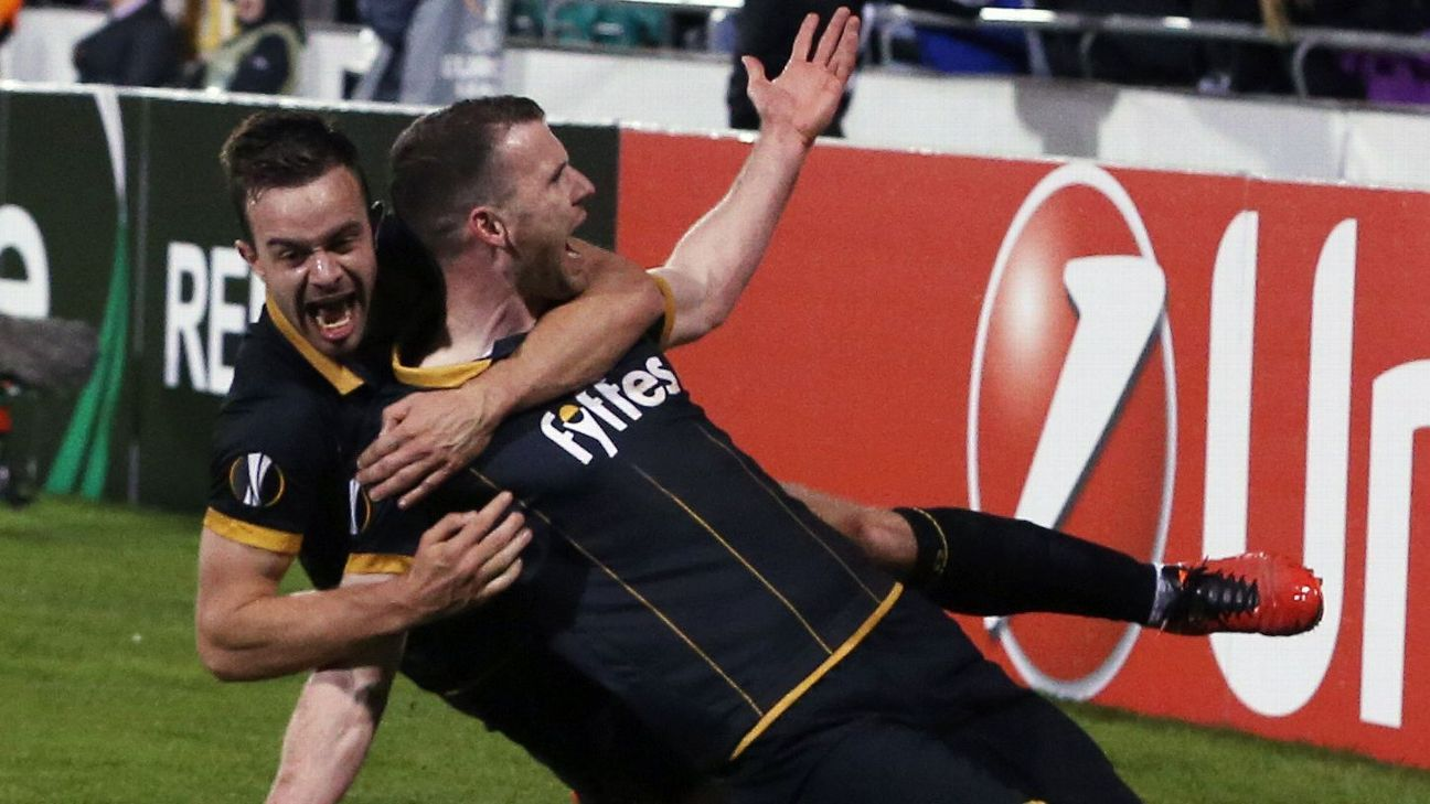 Ciaran Kilduff scored the winner for Dundalk.