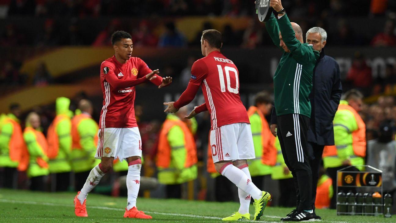 Rooney sub in UEL 160929