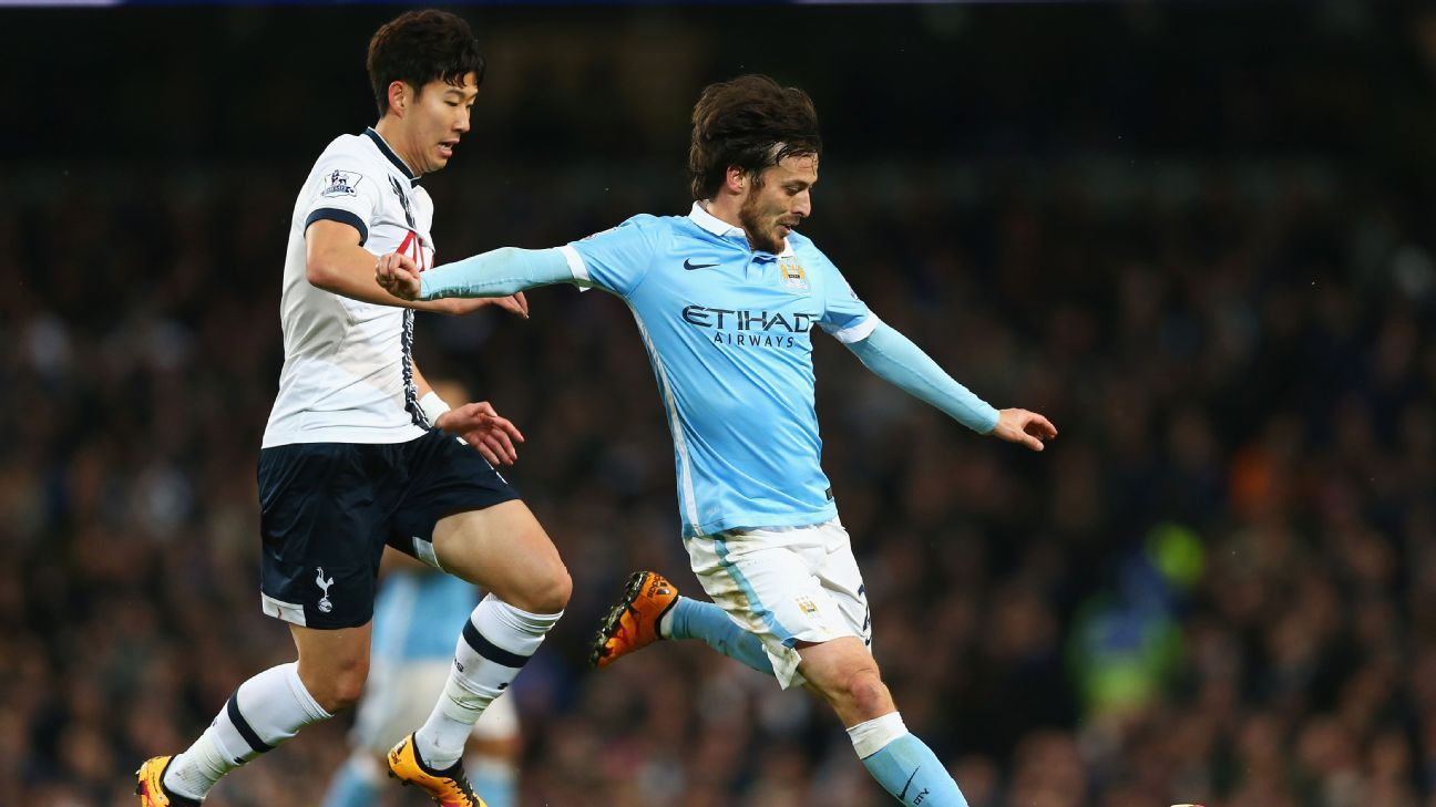 Son Heung-Min and David Silva