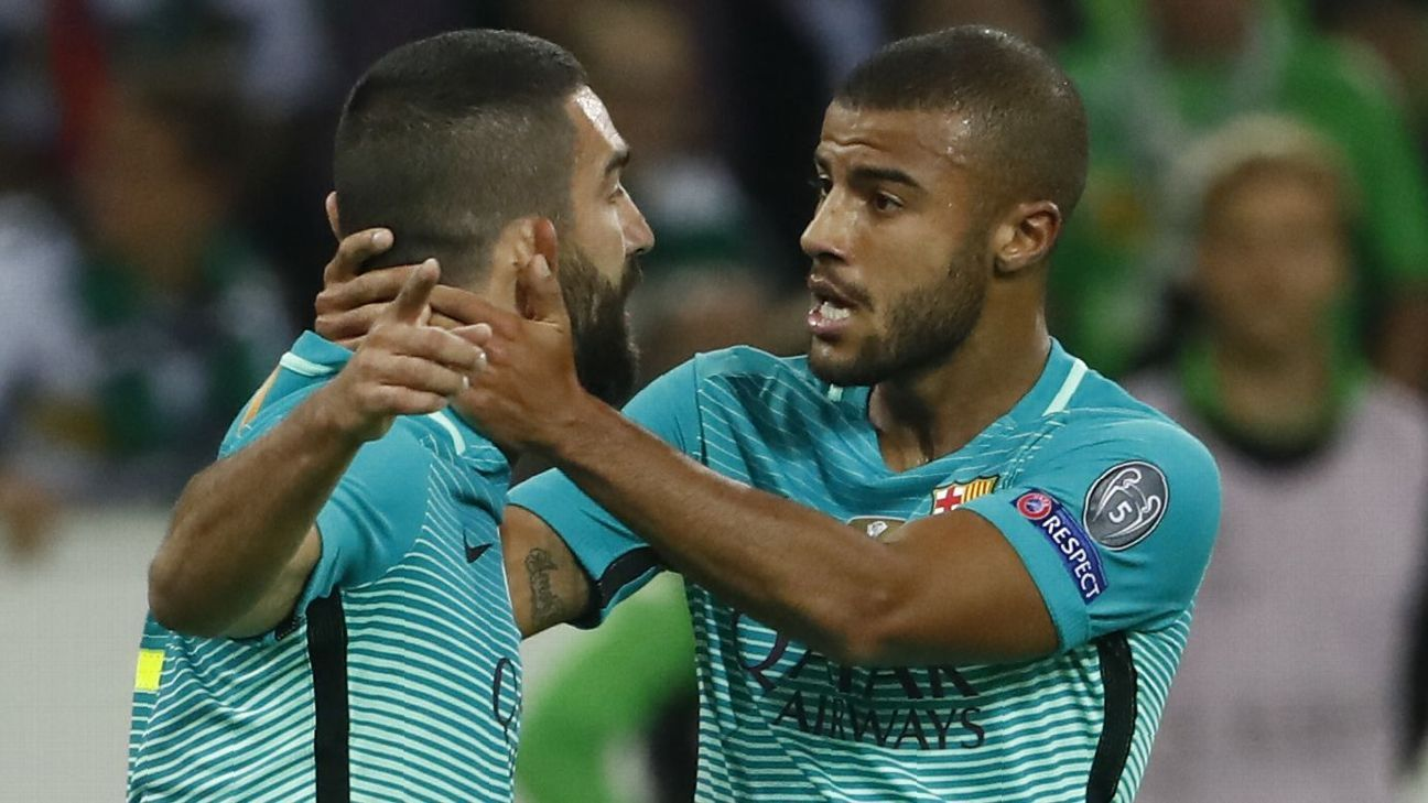 Barcelona s Arda Turan and Rafinha out vs Valencia due to