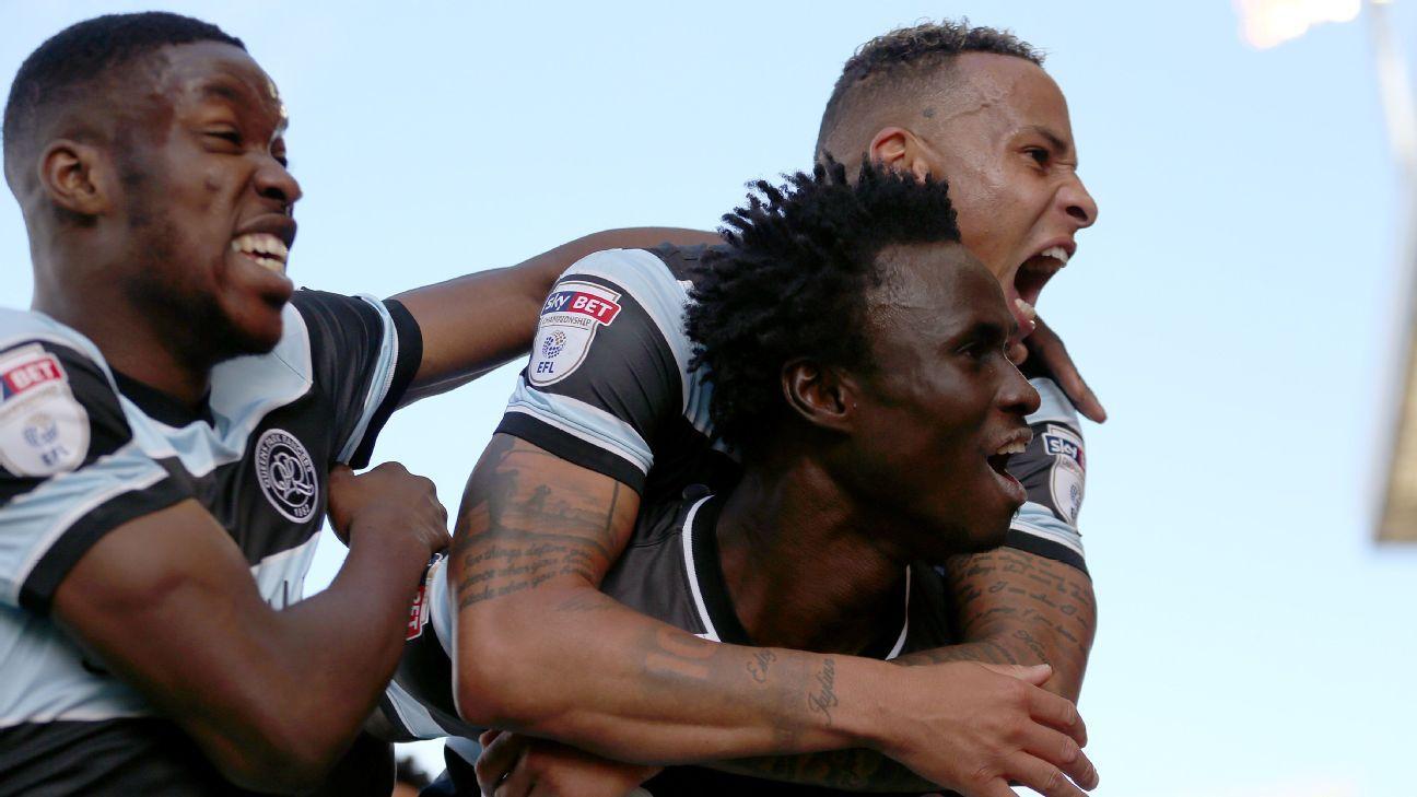Idrissa Sylla sealed all three points for QPR on Saturday.